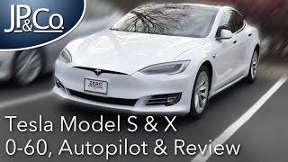 2017 Tesla Review & Launch Control (Model X P90D & Model S P100D)