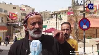 حركة تجارية متواضعة في عجلون وشكاوى من ارتفاع الأسعار 27/3/2020