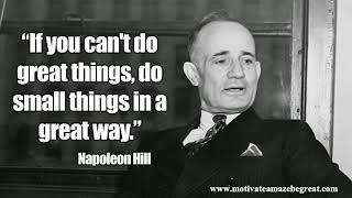 Napoleon Hill- It Starts With A Desire, Told By Kevin Trudeau