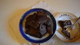 Жарим говяжью печень/Fry beef liver