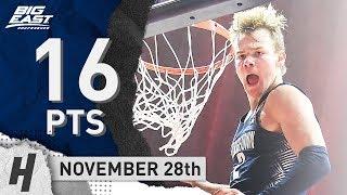 Mac McClung Full Highlights Georgetown vs Richmond 2018.11.28 - 16 Points!