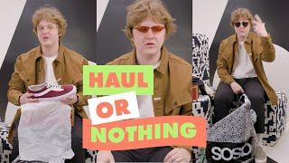 Lewis Capaldi Talks Us Through His ASOS Order | ASOS Haul Or Nothing