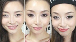 [English Subs] 3 Ways to wear Eyeliner/3つのアイラインの書き方 Thumbnail