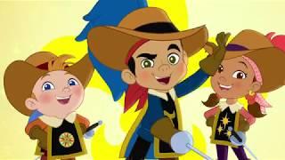 Джейк и Пираты Нетландии - Сказки капитана Базарда. Часть 1 и 2  - серия 18 сезон 4 Disney
