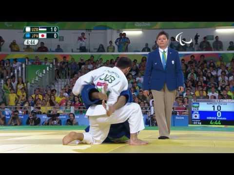 Judo | UZBEKISTAN vs JAPAN | Men's -60kg Gold Medal Contest | Rio 2016 Paralympic Games
