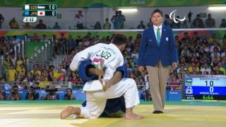 Judo | UZBEKISTAN vs JAPAN | Men's -60kg Gold Medal Contest | Rio 2016 Paralympic Games