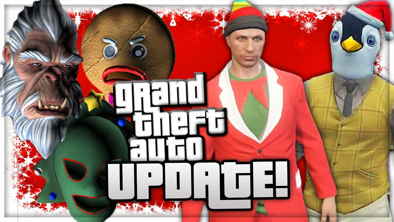 Gta 5 Online All Christmas Masks.Gta 5 Dlc Christmas Update New Masks Clothes Cars Leaked Dlc Gta 5 Online