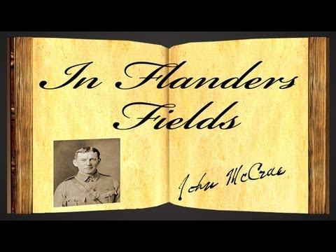 In Flanders Fields by John McCrae - Poetry Reading