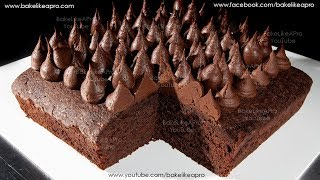 Easy Chocolate Fudgy Butter Brownies Recipe