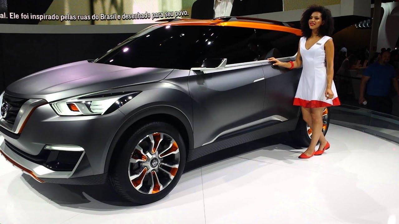 Nissan Kicks Concept Sal 227 O Do Autom 243 Vel 2014 Youtube