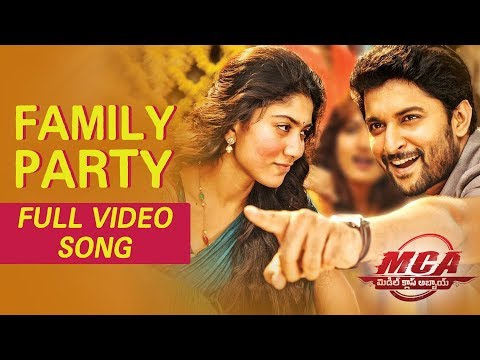MCA Video Songs - Family Party Full Video Song - Nani, Sai Pallavi