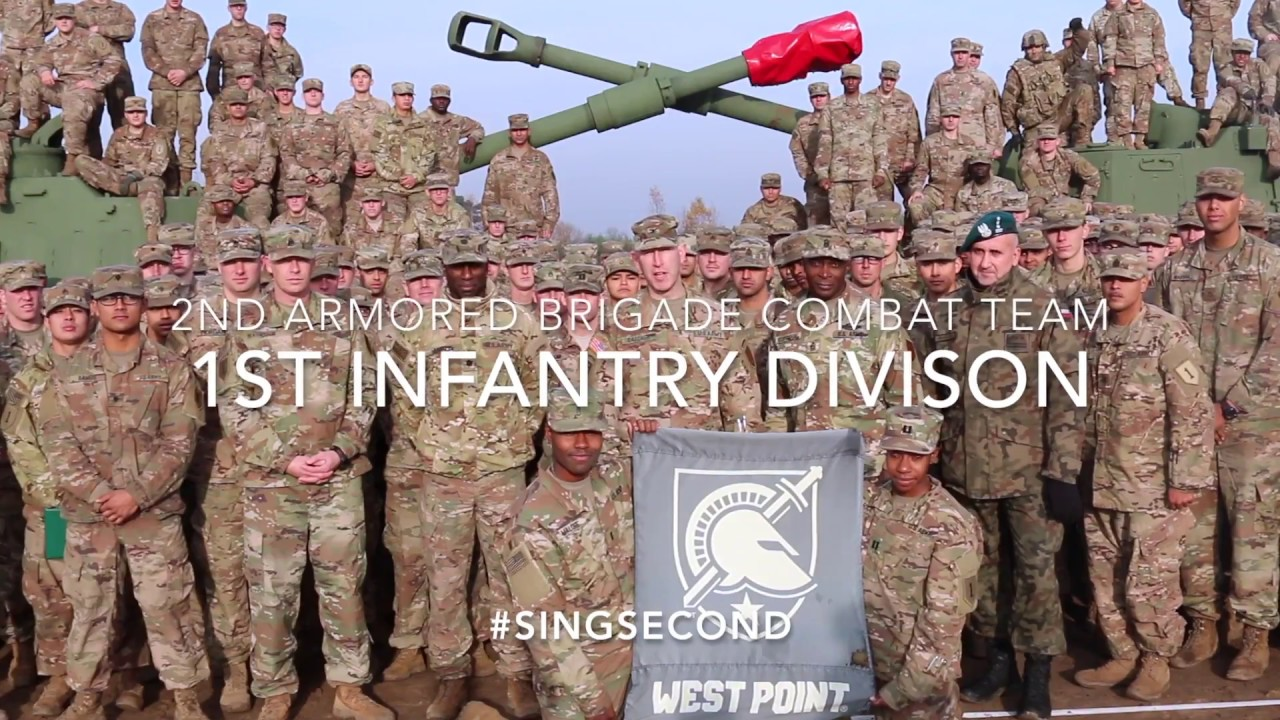 1st Infantry Division Army-Navy Spirit Video - YouTube 3a71fac09