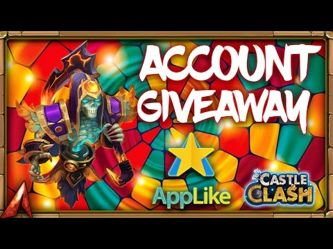 Account Giveaway! Extra Money For Castle Clash! F2P To P2P?