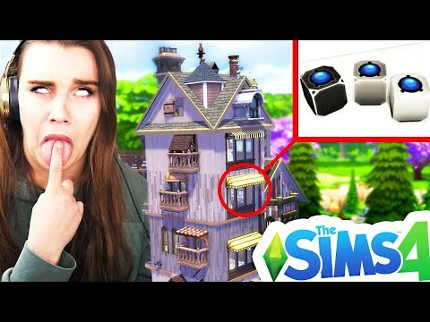 LEAST USED ITEMS BUILD CHALLENGE! The Sims 4 thumbnail