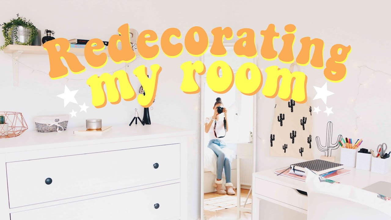 REDECORATING MY ROOM 2017  YouTube