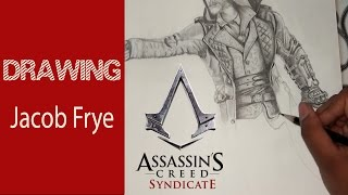 DRAWING: Assassin's Creed - Syndicate || Jacob Frye || Time-Lapse video || A.J. Arts