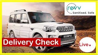 Revv self drive car delivery check | Live