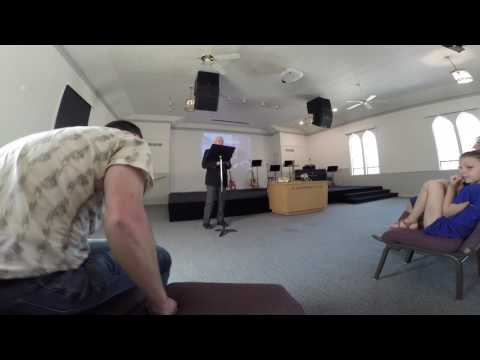 Minister Dave Drullinger's final sermon at Discovery Christian Church Bend Oregon