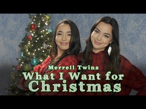 What I Want For Christmas - Merrell Twins - Music Video