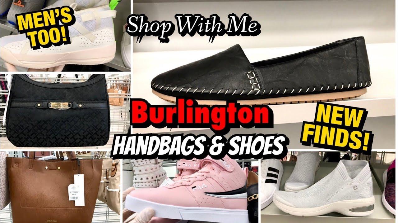 BURLINGTON SHOP WITH ME SHOES & HANDBAGS ** NEW FINDS !! ** MEN'S TOO