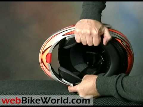 Fulmer M1 Modus Trident Flamethrower Motorcycle Helmet
