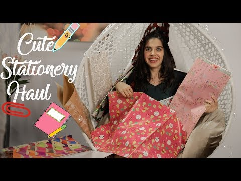 Cute Stationery In India! Crawford Market Mumbai Haul | #HeliHauls