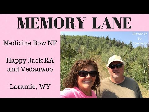 MEMORY LANE-5 Days of Solitude near Laramie, WY in Medicine Bow National Forest