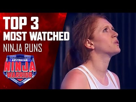 Most watched Australian Ninja Warrior runs   Australian Ninja Warrior 2019