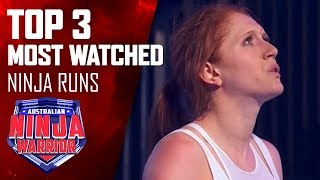 Most watched Australian Ninja Warrior runs | Australian Ninja Warrior 2019
