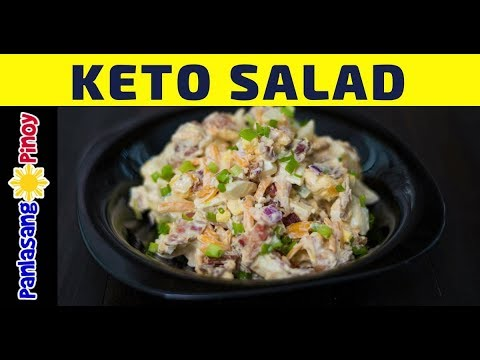 Ketogenic Bacon And Egg Salad Low Carb High Fat Diet