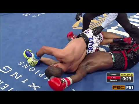 """Miguel Cruz """" I don't fight bums."""""""