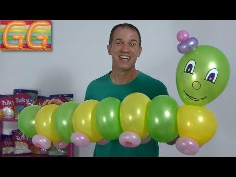 Caterpillar - Balloon Animal