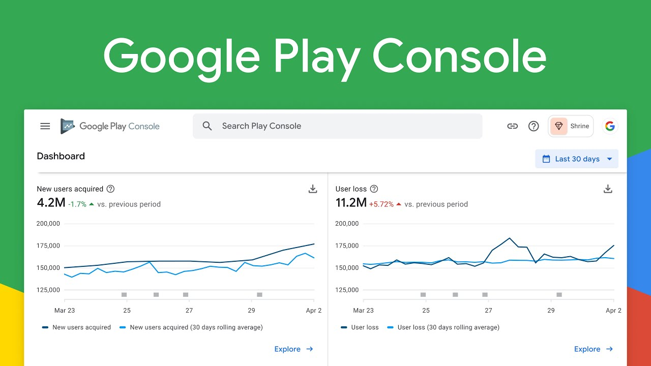 Welcome to Google Play Console