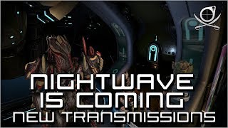 (Warframe) Nightwave Is Coming - Wolf Of Saturn 6 Teasers Ingame!