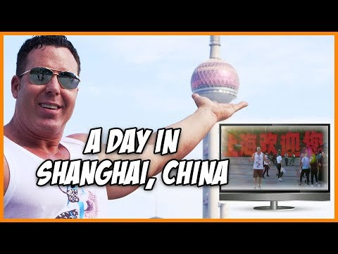 A Day In Shanghai China Population 24 Million, 3 Times The Size Of NYC!!