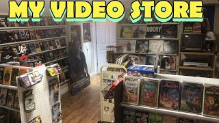 MY PERSONAL VIDEO STORE (VHS LASERDISC COLLECTION BLOCKBUSTER VIDEO)