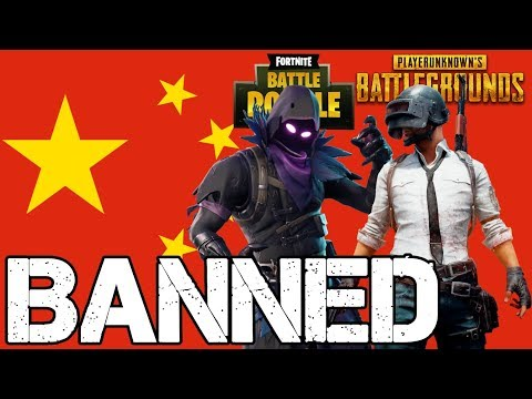 Fortnite and PUBG Banned in China