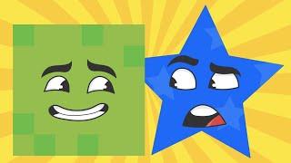 Shapes Song For Kids: Learn Shapes | Kindergarten Nursery Rhymes