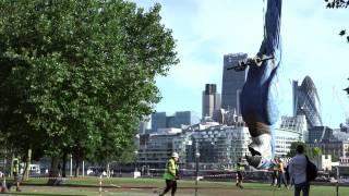 #MontyPythonLive Dead Parrot Stunt