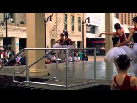 Ballet on the Boardwalk by AC Ballet dancer Marcos Montes