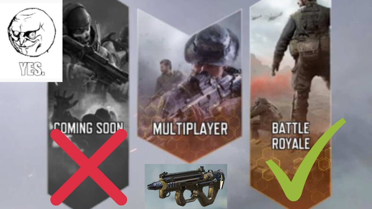 New game modes in Call Of Duty Mobile