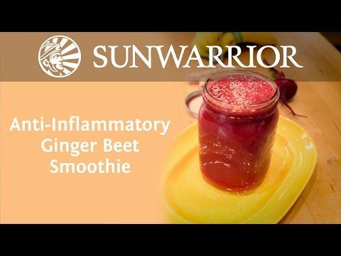 Anti-Inflammatory Ginger Beet Smoothie | Koya Webb