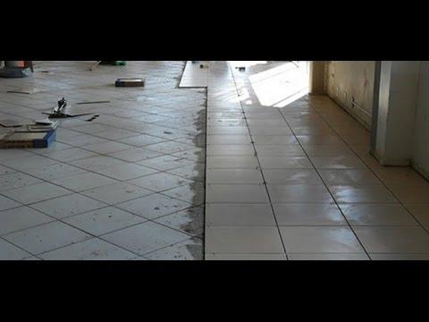 Voc sabe como assentar porcelanato em cima de piso youtube for Pisos en porcelanato