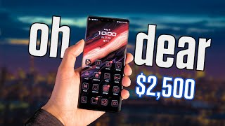 I used a $2,500 SuperPhone - This is what happened.
