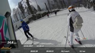 22.02.2017 E1 (Зелёная). Газпром