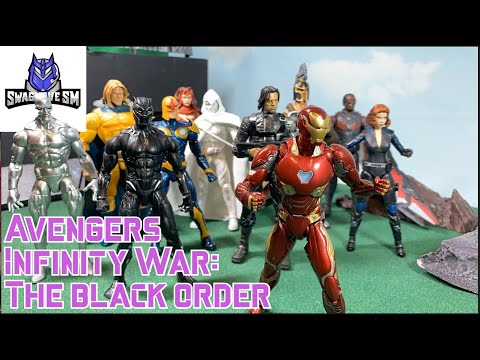 Avengers Infinity War: Part 1 The Black Order [Stop Motion Film]