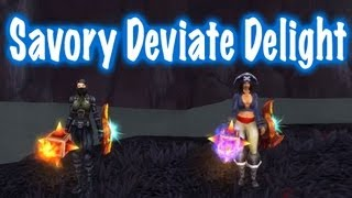 Cool Transformation, How to get Savory Deviate Delight (World of Warcraft)
