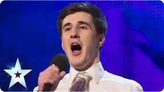 Paul Stark with his stand up comedy routine - Week 1 Auditions | Britain's Got Talent 2013