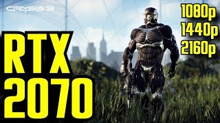 Crysis 3 RTX 2070 OC | 1080p - 1440p & (4K) 2160p | FRAME-RATE TEST