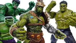 Ninja Turtles Turn Into Hulks, Planet Hulk Is The Leader~! - ToyMart TV